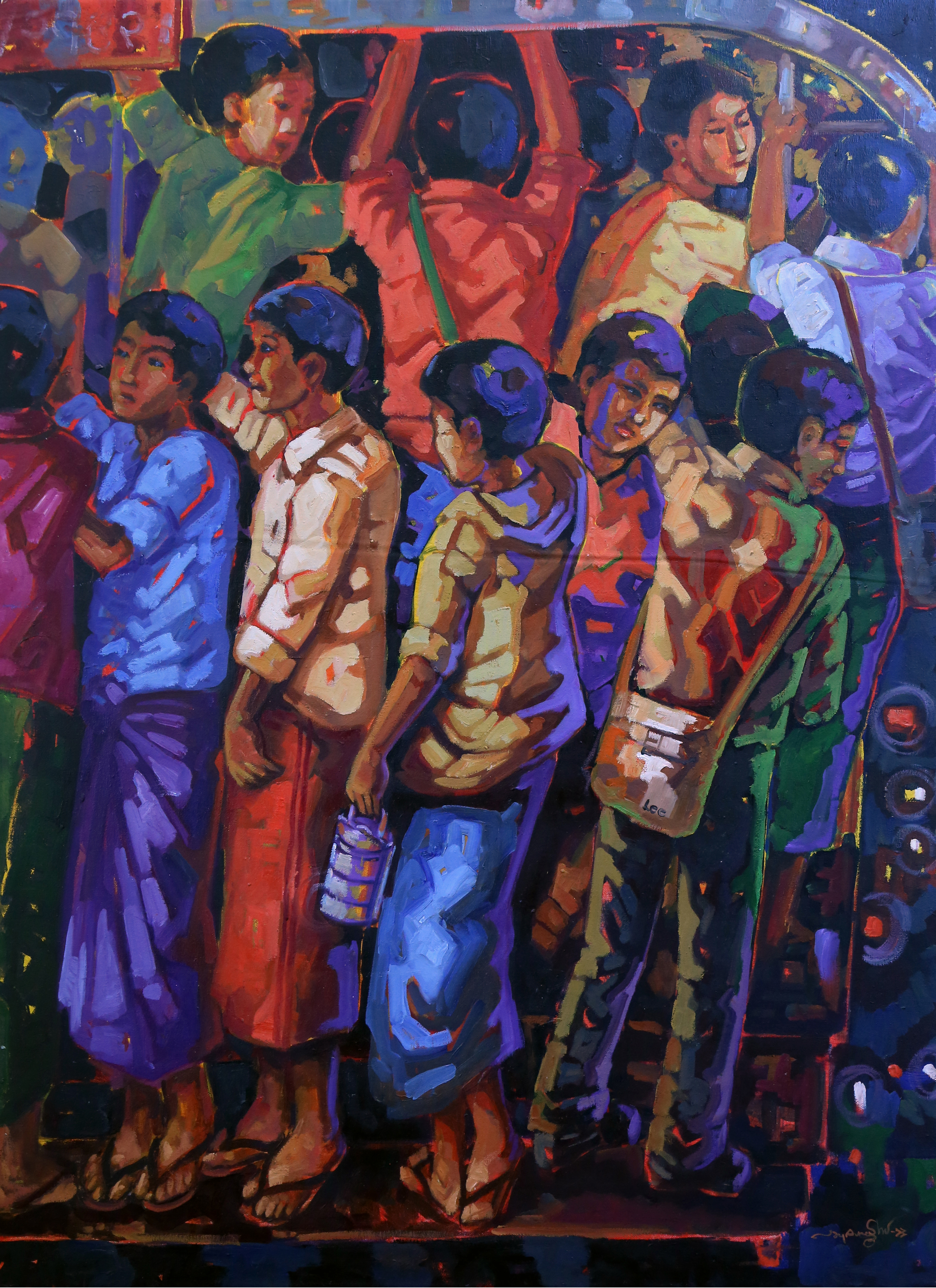 Altered State: Painting Myanmar In A Time Of Transition