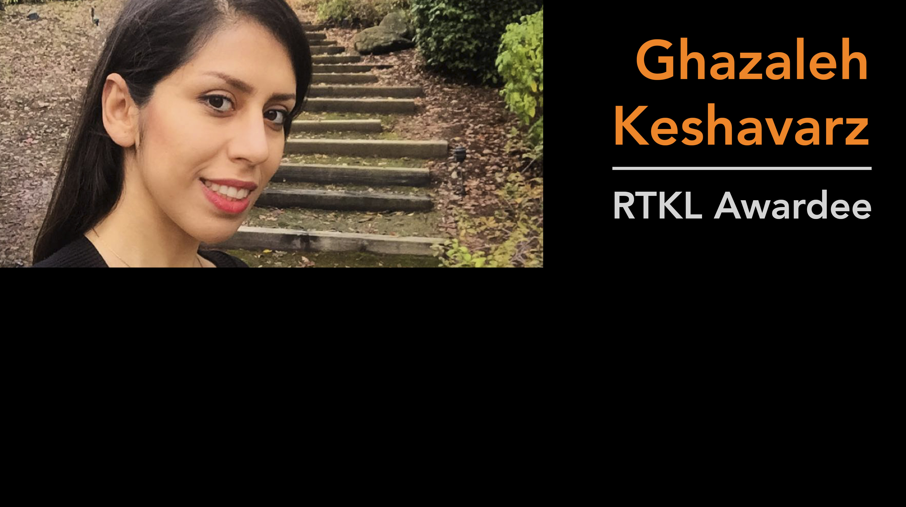 RTKL Awardee Ghazaleh Keshavarz's Talk @ CADVC, April 27th @ 2pm